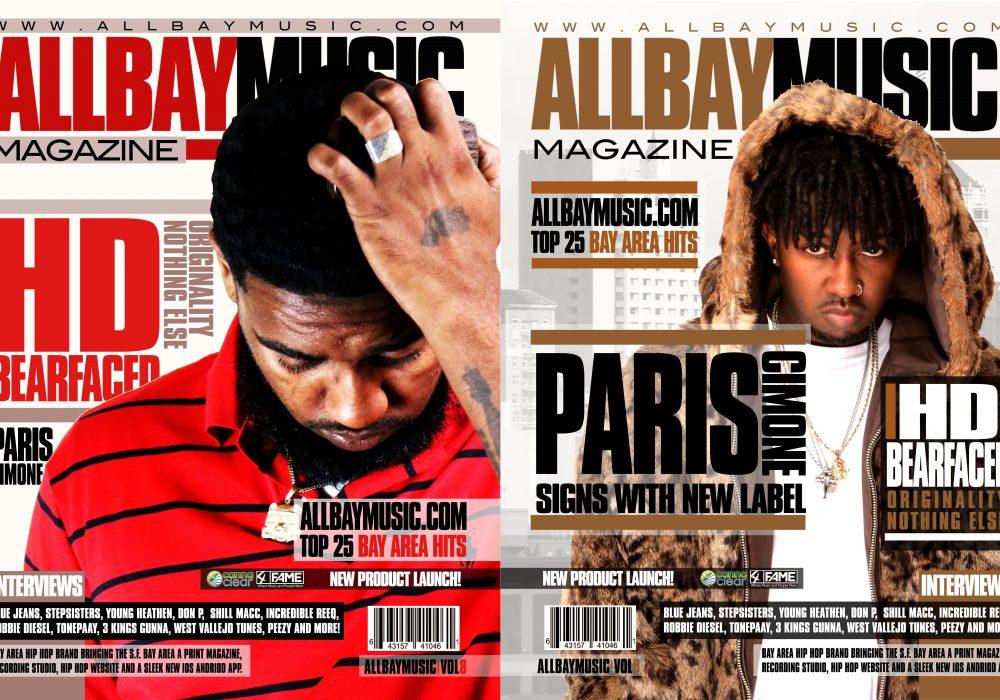 All Bay Music Magazine Issue 8 Starring HD & Paris Cimone drops Jan. 24th